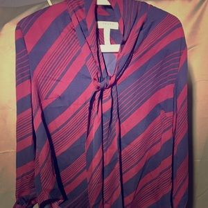 Canvas by Lands End  Blouse  10  Like New  EUC